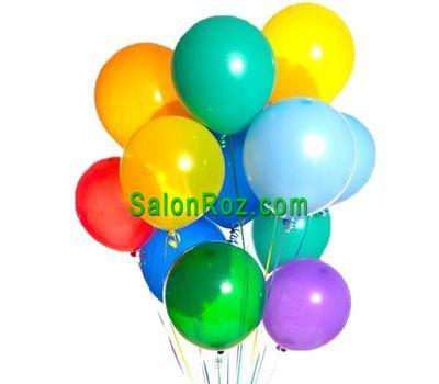 """15 colorful balls"" in the online flower shop salonroz.com"