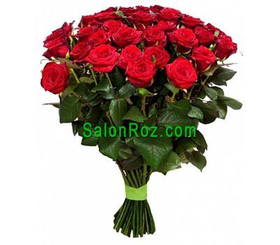"""Bouquet of 41 red roses"" in the online flower shop salonroz.com"