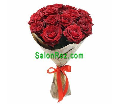 """Bouquet of roses - Romantic"" in the online flower shop salonroz.com"