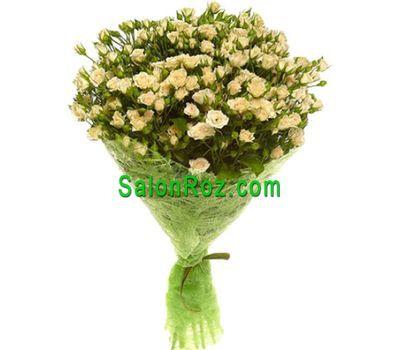 """""""Букет из 17 кустовых роз"""" в интернет-магазине цветов salonroz.com"""