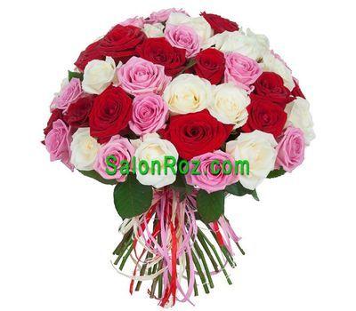 """""""Нежный букет роз"""" в интернет-магазине цветов salonroz.com"""