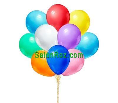 """""""11 воздушных шаров"""" в интернет-магазине цветов salonroz.com"""