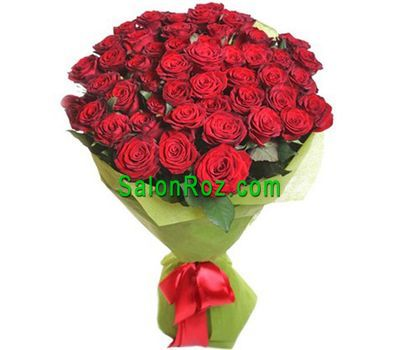 """Bouquet of 51 red roses"" in the online flower shop salonroz.com"