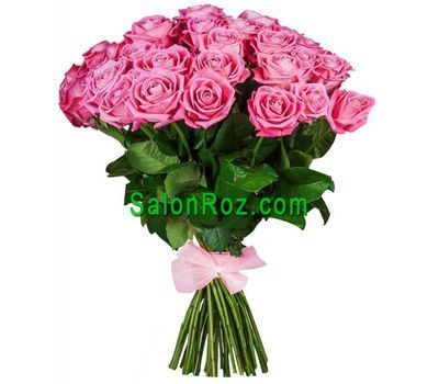 """""""Восхитительный букет розовых роз"""" в интернет-магазине цветов salonroz.com"""