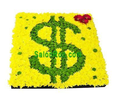 """For luck"" in the online flower shop salonroz.com"