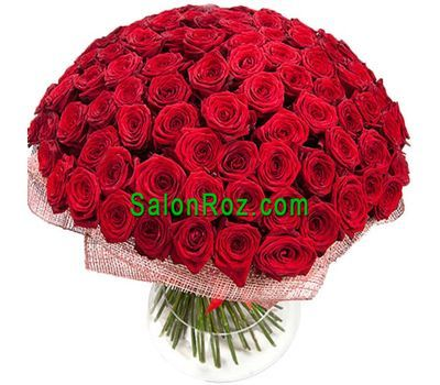 """Bouquet of 251 red roses"" in the online flower shop salonroz.com"
