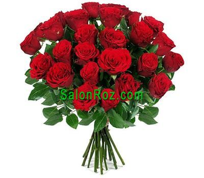 """Bouquet of 31 red roses"" in the online flower shop salonroz.com"