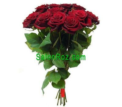 """Bouquet of 11 red roses"" in the online flower shop salonroz.com"