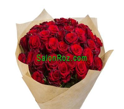 """Bouquet of 35 red roses"" in the online flower shop salonroz.com"