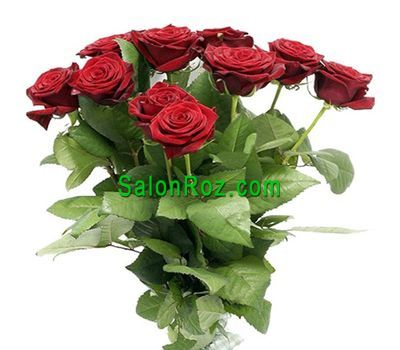 """Bouquet of 15 red roses"" in the online flower shop salonroz.com"