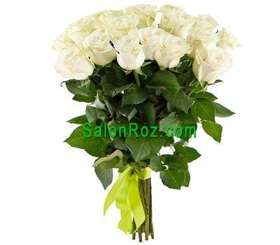"""""""Букет из 17 белых импортных роз"""" в интернет-магазине цветов salonroz.com"""