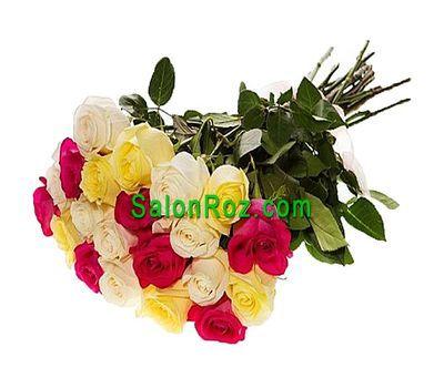 """""""Букет из 21 импортных роз"""" в интернет-магазине цветов salonroz.com"""