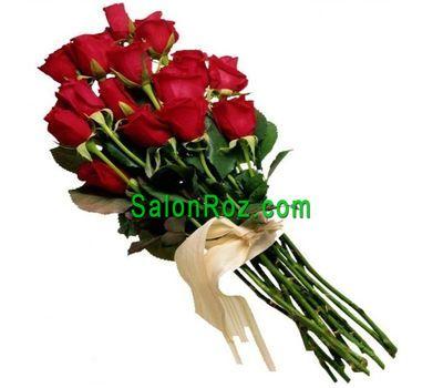 """""""Букет из 13 красных импортных роз"""" в интернет-магазине цветов salonroz.com"""