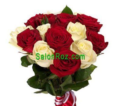 """""""Букет из 17 роз"""" в интернет-магазине цветов salonroz.com"""