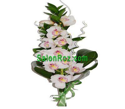 """""""Букет из  ветки орхидеи"""" в интернет-магазине цветов salonroz.com"""