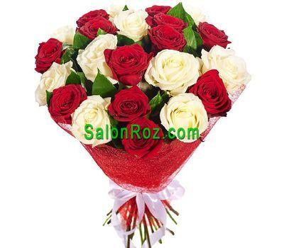 """""""Букет из 25 роз"""" в интернет-магазине цветов salonroz.com"""
