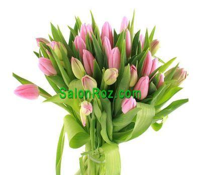 """""""Букет из 27 розовых тюльпанов"""" в интернет-магазине цветов salonroz.com"""