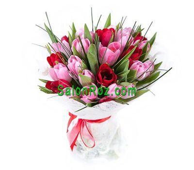 """""""Букет из 23  тюльпанов"""" в интернет-магазине цветов salonroz.com"""