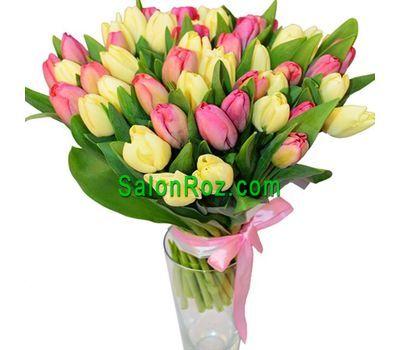 """""""Букет из 45 тюльпанов"""" в интернет-магазине цветов salonroz.com"""