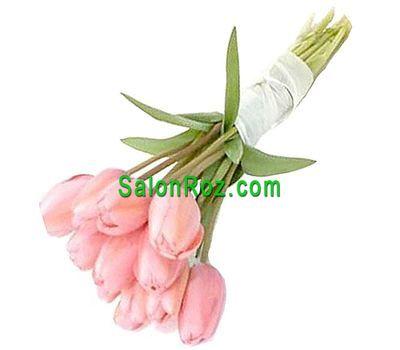 """""""Букет из 11 тюльпанов"""" в интернет-магазине цветов salonroz.com"""