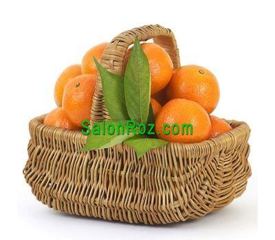 """""""Корзина апельсин"""" в интернет-магазине цветов salonroz.com"""
