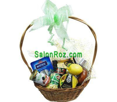 """""""Корзина с продуктами"""" в интернет-магазине цветов salonroz.com"""