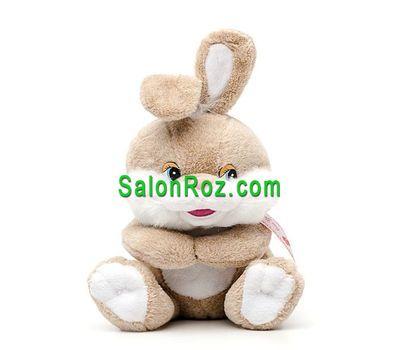 """""""Мягкая игрушка — Зайчик."""" в интернет-магазине цветов salonroz.com"""