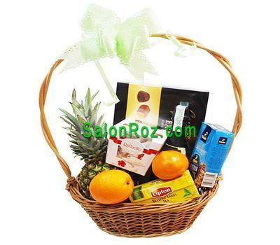 """""""Корзина на подарок"""" в интернет-магазине цветов salonroz.com"""
