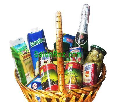 """""""Подарочная корзина с продуктами"""" в интернет-магазине цветов salonroz.com"""