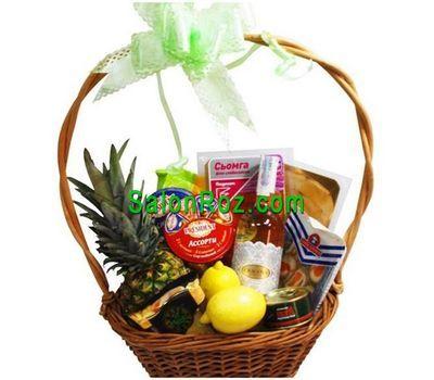"""""""Корзина продуктов на подарок"""" в интернет-магазине цветов salonroz.com"""