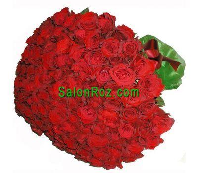 """""""Букет із 101 імпортної троянди"""" в интернет-магазине цветов salonroz.com"""